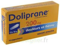 DOLIPRANE 200 mg Suppositoires 2Plq/5 (10) à AUDENGE