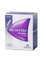 NICORETTE INHALEUR 10 mg Cartouche p inh bucc inhalation buccale B/42 à AUDENGE