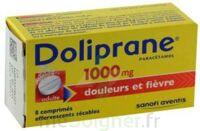 DOLIPRANE 1000 mg Comprimés effervescents sécables T/8 à AUDENGE