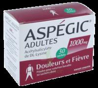 ASPEGIC ADULTES 1000 mg, poudre pour solution buvable en sachet-dose 30 à AUDENGE