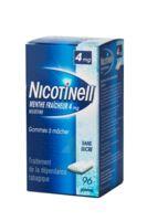 NICOTINELL MENTHE FRAICHEUR 4 mg SANS SUCRE, gomme à mâcher médicamenteuse 8Plq/12 à AUDENGE