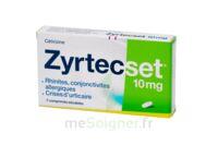 ZYRTECSET 10 mg, comprimé pelliculé sécable à AUDENGE