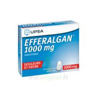 Efferalgan 1000 Mg Comprimés Pelliculés Plq/8 à AUDENGE