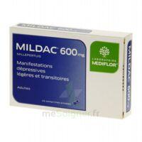 MILDAC 600 mg, comprimé enrobé à AUDENGE