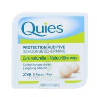 QUIES PROTECTION AUDITIVE CIRE NATURELLE 8 PAIRES à AUDENGE