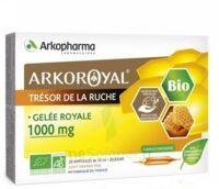 Arkoroyal Gelée Royale Bio 1000 Mg Solution Buvable 20 Ampoules/10ml à AUDENGE