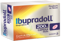 IBUPRADOLL 200 mg, capsule molle à AUDENGE