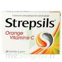 STREPSILS ORANGE VITAMINE C, pastille à AUDENGE