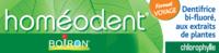 Boiron Homéodent Soin Complet Dents et Gencives Pâte Dentifrice Chlorophylle Format Voyage T/25ml à AUDENGE