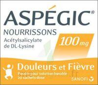 ASPEGIC NOURRISSONS 100 mg, poudre pour solution buvable en sachet-dose à AUDENGE
