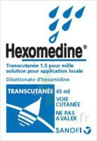 HEXOMEDINE TRANSCUTANEE 1,5 POUR MILLE, solution pour application locale à AUDENGE