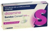 DIOSMINE SANDOZ CONSEIL 600 mg, comprimé pelliculé à AUDENGE