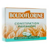 BOLDOFLORINE 1 Cpr pell constipation passagère B/40 à AUDENGE