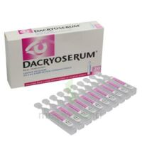 DACRYOSERUM Solution pour lavage ophtalmique en récipient unidose 20Unidoses/5ml à AUDENGE