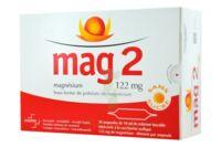MAG 2 122 mg S buv en ampoule sans sucre édulcoré à la saccharine sodique 30Amp/10ml à AUDENGE