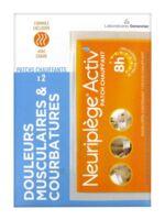 NEURIPLEGE ACTIV' patch chauffant B/2 à AUDENGE