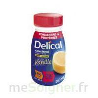 DELICAL BOISSON HP HC CONCENTREE Nutriment vanille 4Bouteilles/200ml à AUDENGE