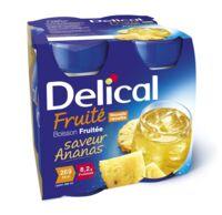 DELICAL BOISSON FRUITEE Nutriment ananas 4Bouteilles/200ml à AUDENGE