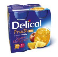 DELICAL BOISSON FRUITEE Nutriment multi fruits 4Bouteilles/200ml à AUDENGE