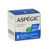 ASPEGIC 500 mg, poudre pour solution buvable en sachet-dose 30 à AUDENGE