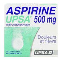 ASPIRINE UPSA 500 mg, comprimé effervescent à AUDENGE