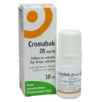 CROMABAK 20 mg/ml, collyre en solution à AUDENGE