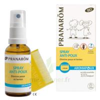 Pranarôm Aromapoux Bio Spray anti-poux 30ml+peigne à AUDENGE