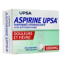 ASPIRINE UPSA TAMPONNEE EFFERVESCENTE 1000 mg, comprimé effervescent à AUDENGE