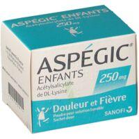 ASPEGIC ENFANTS 250, poudre pour solution buvable en sachet-dose à AUDENGE