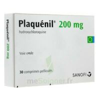 PLAQUENIL 200 mg, comprimé pelliculé à AUDENGE