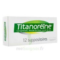 TITANOREINE Suppositoires B/12 à AUDENGE