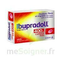 IBUPRADOLL 400 mg Caps molle Plq/10 à AUDENGE