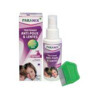 Paranix Solution antipoux Huiles essentielles 100ml+peigne à AUDENGE