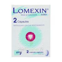 LOMEXIN 600 mg Caps molle vaginale Plq/2 à AUDENGE
