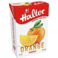Halter Bonbon sans sucre orange 40g à AUDENGE