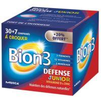 Bion 3 Défense Junior Comprimés à croquer framboise B/30+7 à AUDENGE
