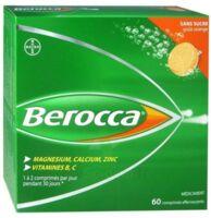 Berocca Comprimés effervescents sans sucre T/60 à AUDENGE