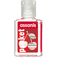 Assanis Pocket Parfumés Gel antibactérien mains cerise 20ml à AUDENGE