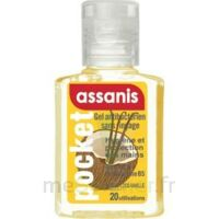 Assanis Pocket Parfumés Gel antibactérien mains Coco Vanille 20ml à AUDENGE