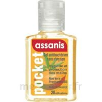 Assanis Pocket Parfumés Gel antibactérien mains Mangue 20ml à AUDENGE