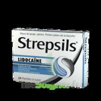 Strepsils lidocaïne Pastilles Plq/24 à AUDENGE