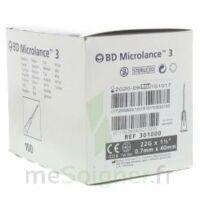 BD MICROLANCE 3, G22 1 1/2, 0,7 m x 40 mm, noir  à AUDENGE