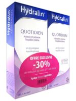 Hydralin Quotidien Gel lavant usage intime 2*200ml à AUDENGE