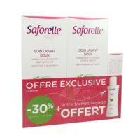 Saforelle Solution soin lavant doux 2*500ml+100ml à AUDENGE