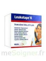 LEUKOTAPE K Sparadrap noir 5cmx5m à AUDENGE