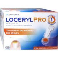 LOCERYLPRO 5 % V ongles médicamenteux Fl/2,5ml+spatule+30 limes+lingettes à AUDENGE
