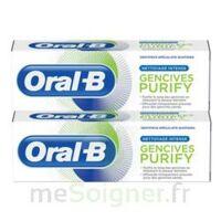 Oral B Gencives Purify Dentifrice 2*T/75ml à AUDENGE