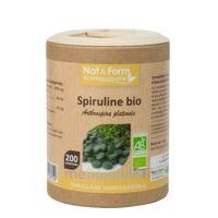 Nat&Form Eco Responsable Spiruline Bio Comprimés B/200 à AUDENGE