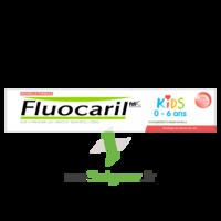 Fluocaril Kids Dentifrice Fraise 0-6 ans T/50ml à AUDENGE